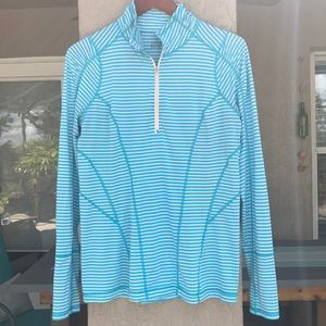 Zella activewear pullover with 1/2 zipper. Size L.